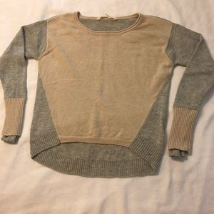 Athleta two toned sweater